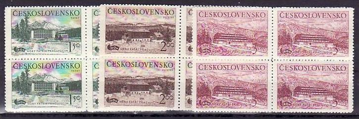 Ceskoslovensko Nr. 4x 657-9   ** (v5935  ) siehe scan