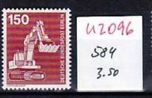 Berlin   Nr. 584  ** ( u2096 ) siehe scan