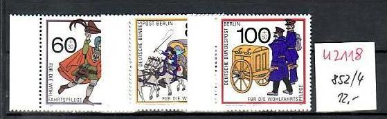 Berlin   Nr. 852-4  ** ( u2118  ) siehe scan