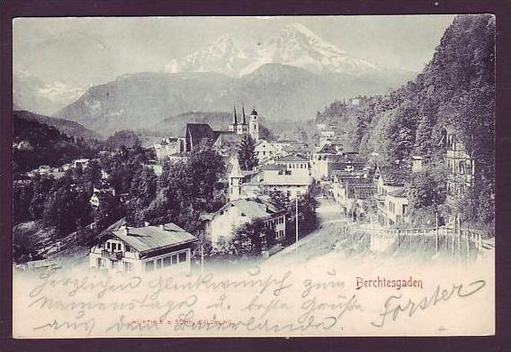 Alte Postkarte  Berchtesgaden (da1548  ) siehe scan