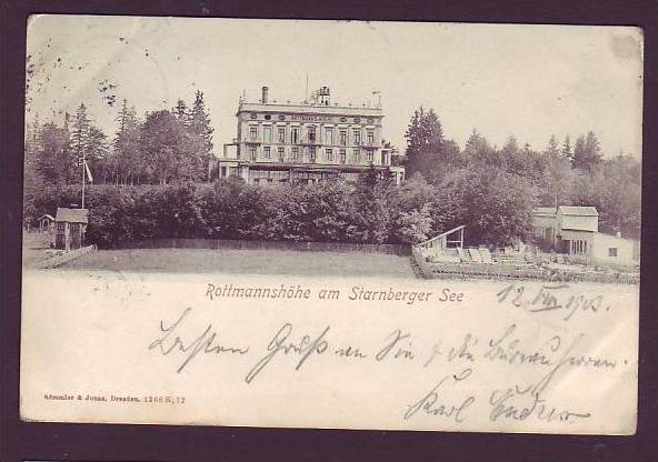 Alte Postkarte  München _Starnberger See(da1483 ) siehe scan