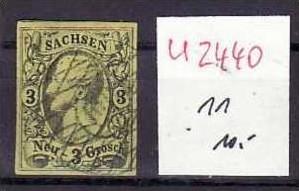 Sachsen Nr.11  o  ( u2440 ) siehe scan