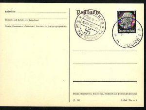 D.-Reich -Werbe-Propaganda Stempel (m9890 ) siehe scan