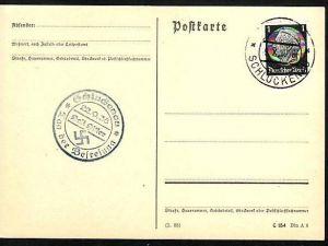 D.-Reich -Werbe-Propaganda Stempel (m9892 ) siehe scan