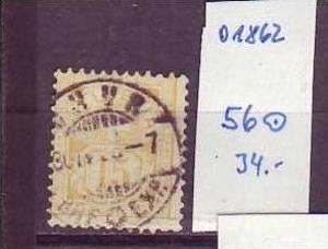 Schweiz Nr. 56   o    ( o1862 ) siehe Bild