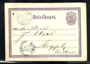 Nederlande -uralte Ganzsache (da1720 ) siehe scan
