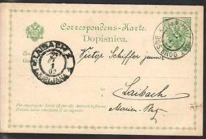 Laibach  uralte Ganzsache (da1739 ) siehe scan