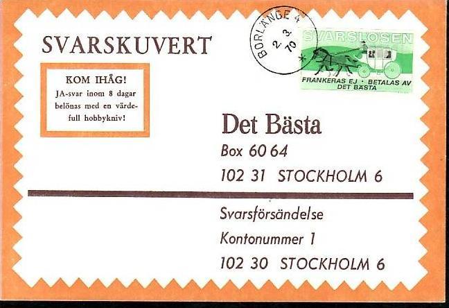 Schweden Brief A Porto Z8490 Siehe Scan Nr 124637677 Oldthing