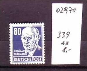 DDR Nr. 339  ** ( o2970 ) siehe scan