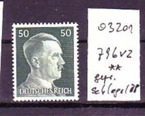 D-Reich Nr. 796 vz ** geprüft Schlegel  (o3201  ) siehe scan