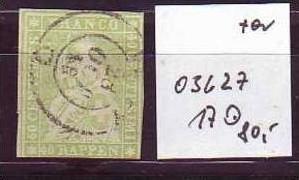 Schweiz Nr. 17   o  (o3627  ) siehe scan vergrößert