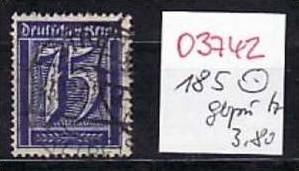 D-Reich Nr. 185  o ( o3742 ) siehe scan