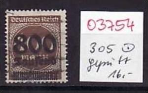 D-Reich Nr. 305    o ( o3754  ) siehe scan