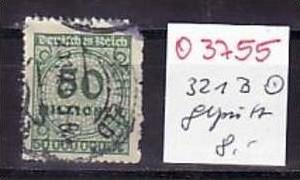 D-Reich Nr. 321 B    o ( o3755  ) siehe scan