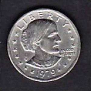 Usa Münze 1 Frauenkopf 1979 X304 Siehe Scan Nr 131407934