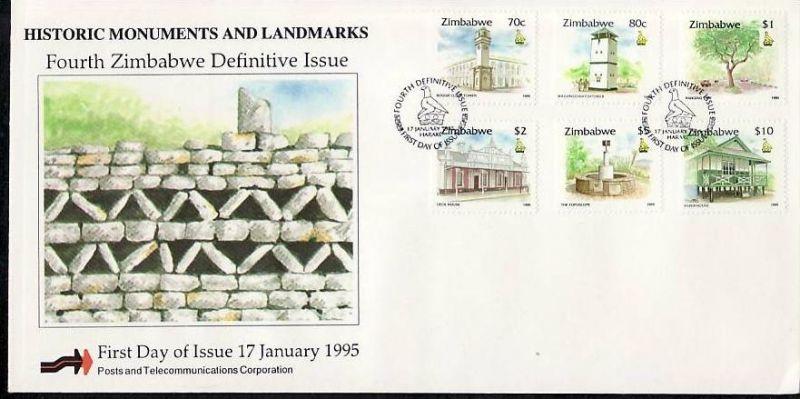 Zimbabwe FDC Nr. 538-53 ( z9549 ) siehe scan