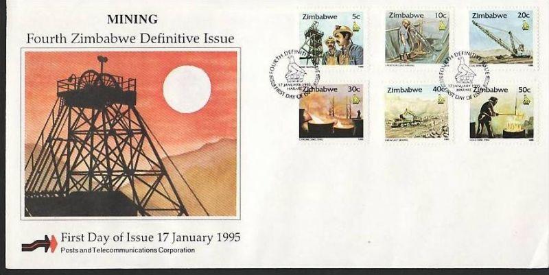 Zimbabwe FDC Nr. 538-53 ( z9549 ) siehe scan 1