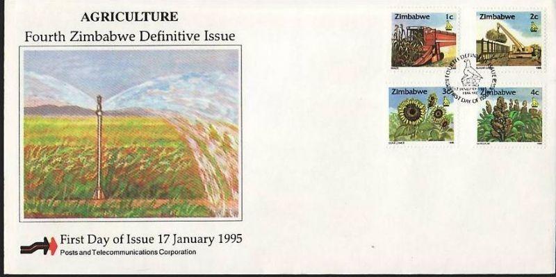 Zimbabwe FDC Nr. 538-53 ( z9549 ) siehe scan 2