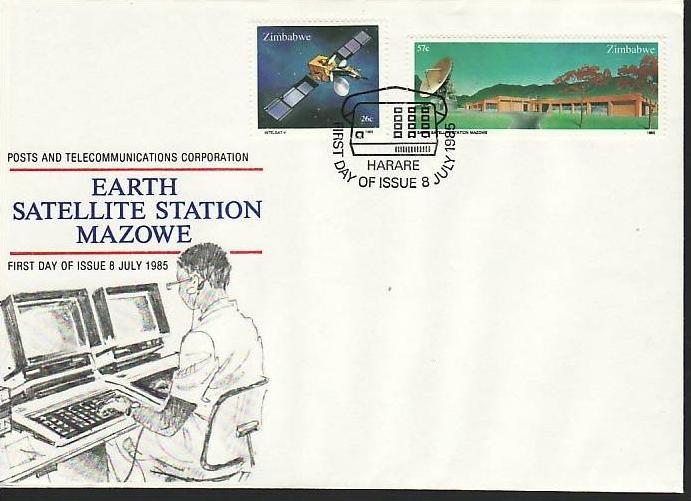 Zimbabwe FDC Nr. 307-8  ( z9543 ) siehe scan