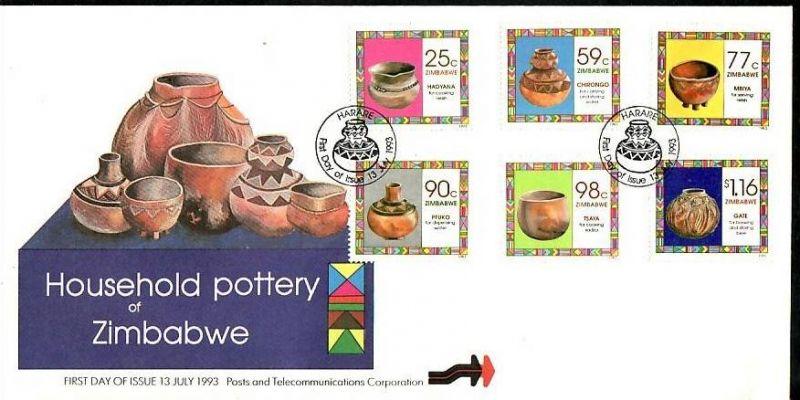 Zimbabwe FDC Nr. 504-9 ( z9548 ) siehe scan
