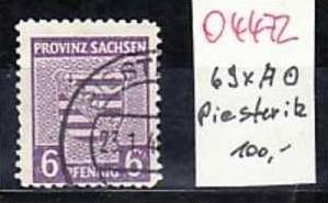 SBZ  Nr. 69xA    rar !  o    ( o4472   ) siehe scan