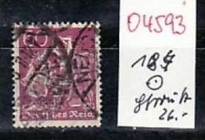 D-Reich Nr. 184     o ( o4593  ) siehe scan
