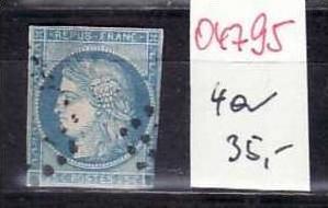 Frankreich Nr. 4 a   o ( o4795 ) siehe scan