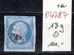 Frankreich  Nr.13 g    ( o4787  ) siehe scan