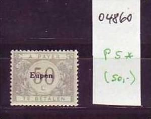 Eupen   Nr. P 5  *  ( o4860   ) siehe scan