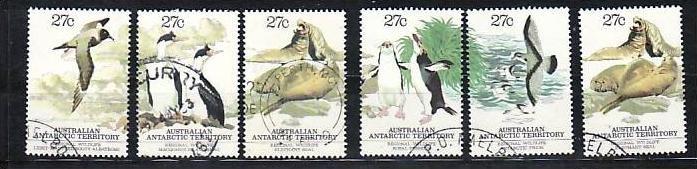 Australien-Antarktis Nr. 55-59  o ( v9655 ) siehe scan