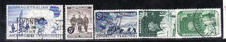 Australien-Antarktis Nr.1-5 o ( v9648  ) siehe scan