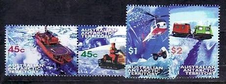 Australien-Antarktis Nr.115-18  ** ( v9666 ) siehe scan