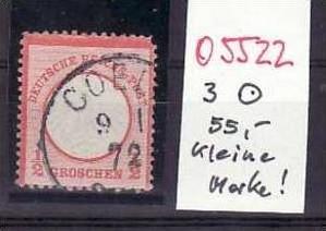 D.-Reich Nr. 3  o  ( o5522 ) siehe scan