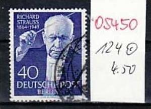 Berlin Nr.124   o  ( o5450 ) siehe scan