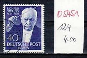 Berlin Nr.124   o  ( o5451 ) siehe scan