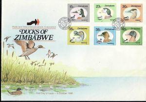 Zimbabwe   Nr. 390-5 FDC    (dc7081 ) siehe scan