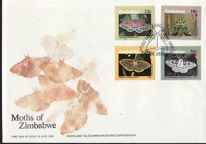 Zimbabwe   Nr.  344-7      FDC    (dc7085 ) siehe scan