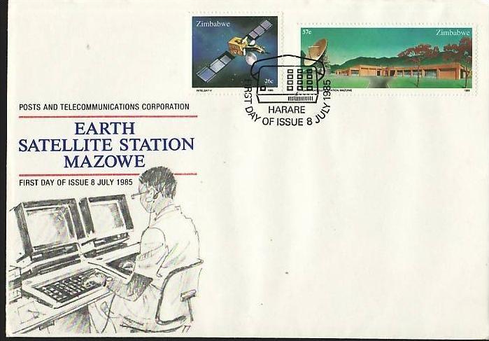 Zimbabwe   Nr.  307-8     FDC    (dc7086 ) siehe scan