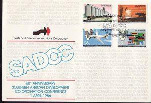 Zimbabwe   Nr.  340-43   FDC    (dc7096 ) siehe scan
