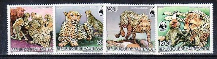 WWF-  Ober Volta 957-0  ** ( v9803  ) siehe scan