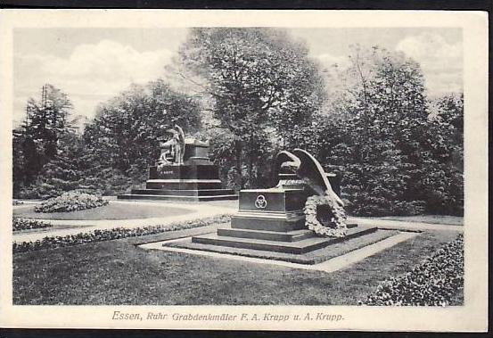 Essen  -Krupp alte Postkarte -un gebraucht ( da 2107 ) siehe scan