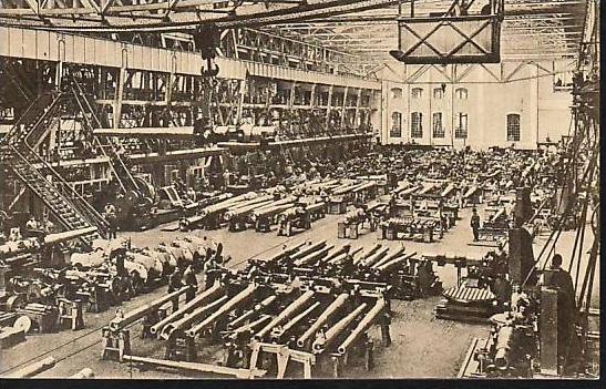 Essen  -Krupp alte Postkarte - gebraucht ( da 2117 ) siehe scan