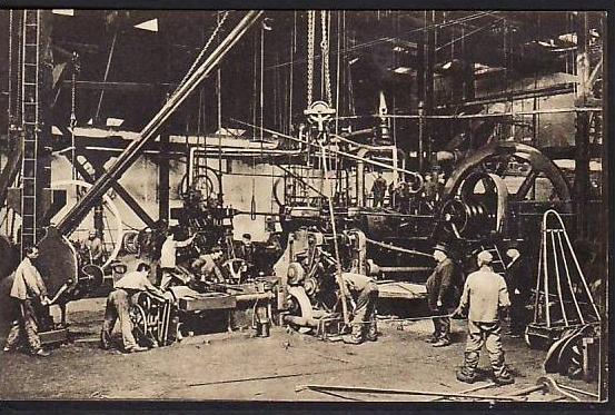 Essen  -Krupp alte Postkarte - gebraucht ( da 2118 ) siehe scan