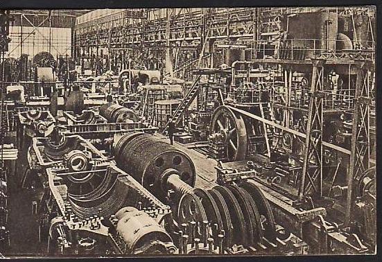 Essen  -Krupp alte Postkarte - gebraucht ( da 2119 ) siehe scan