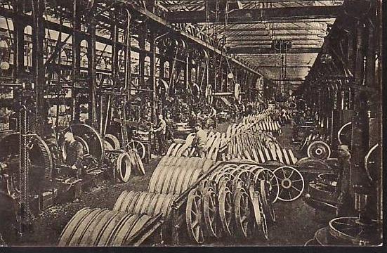 Essen  -Krupp alte Postkarte - gebraucht ( da 2120 ) siehe scan