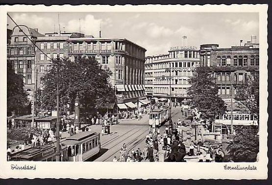 Düsseldorf  - alte Postkarte - gebraucht ( da 2097 ) siehe scan