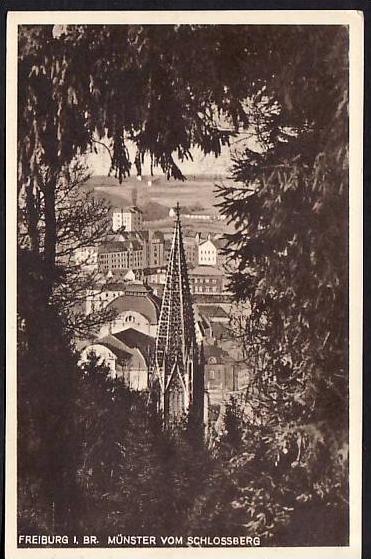 Freiburg - alte Postkarte - gebraucht ( da 2132 ) siehe scan