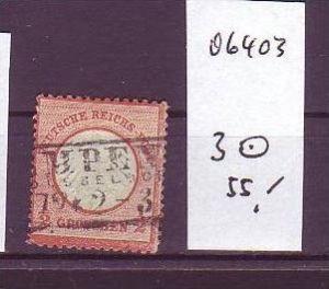 D.-Reich Nr . 3  o   (o6403 ) siehe scan !
