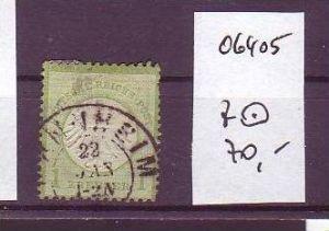 D.-Reich Nr . 7  o   (o6405  ) siehe scan !