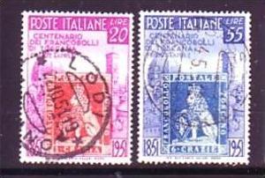 Italien Nr. 826-7  o  ( o6240  ) siehe scan !